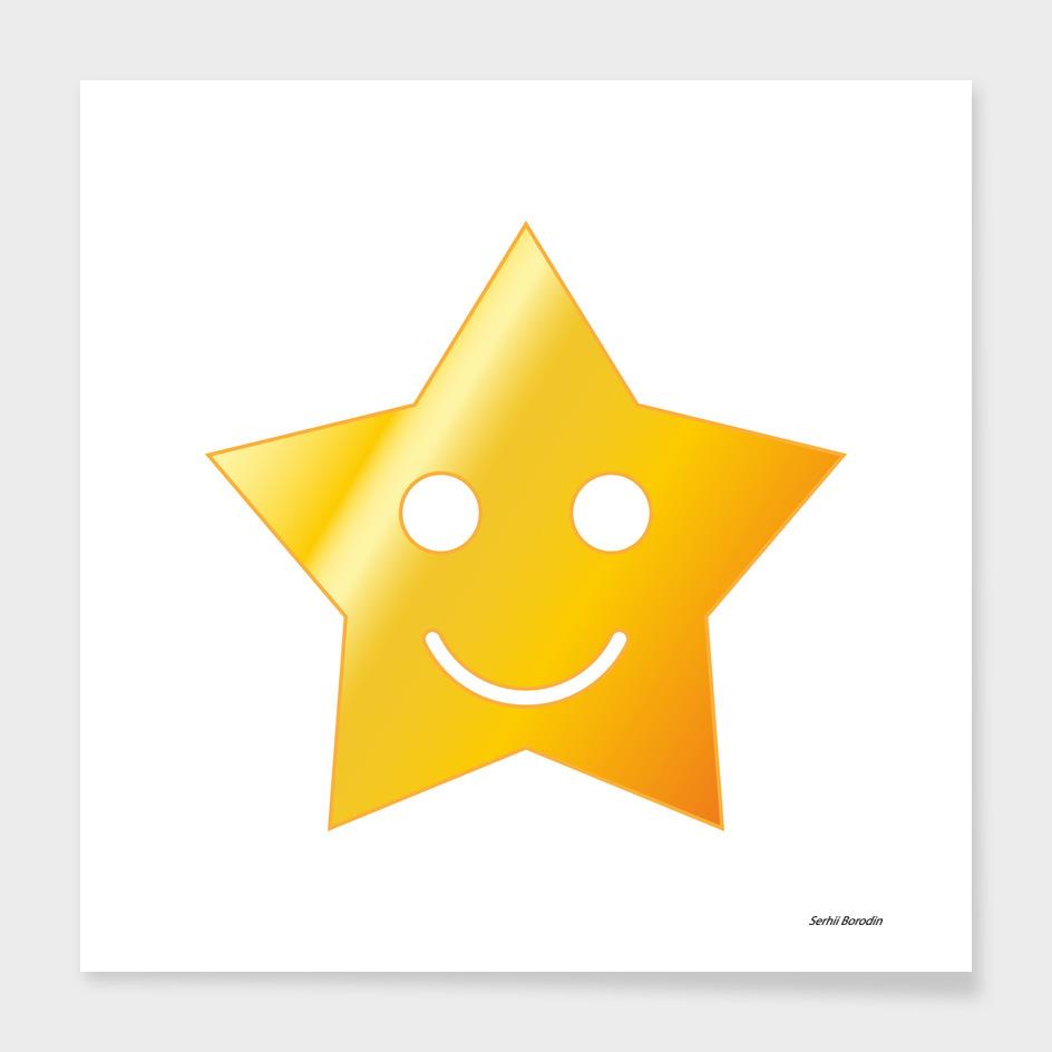 Smiling star