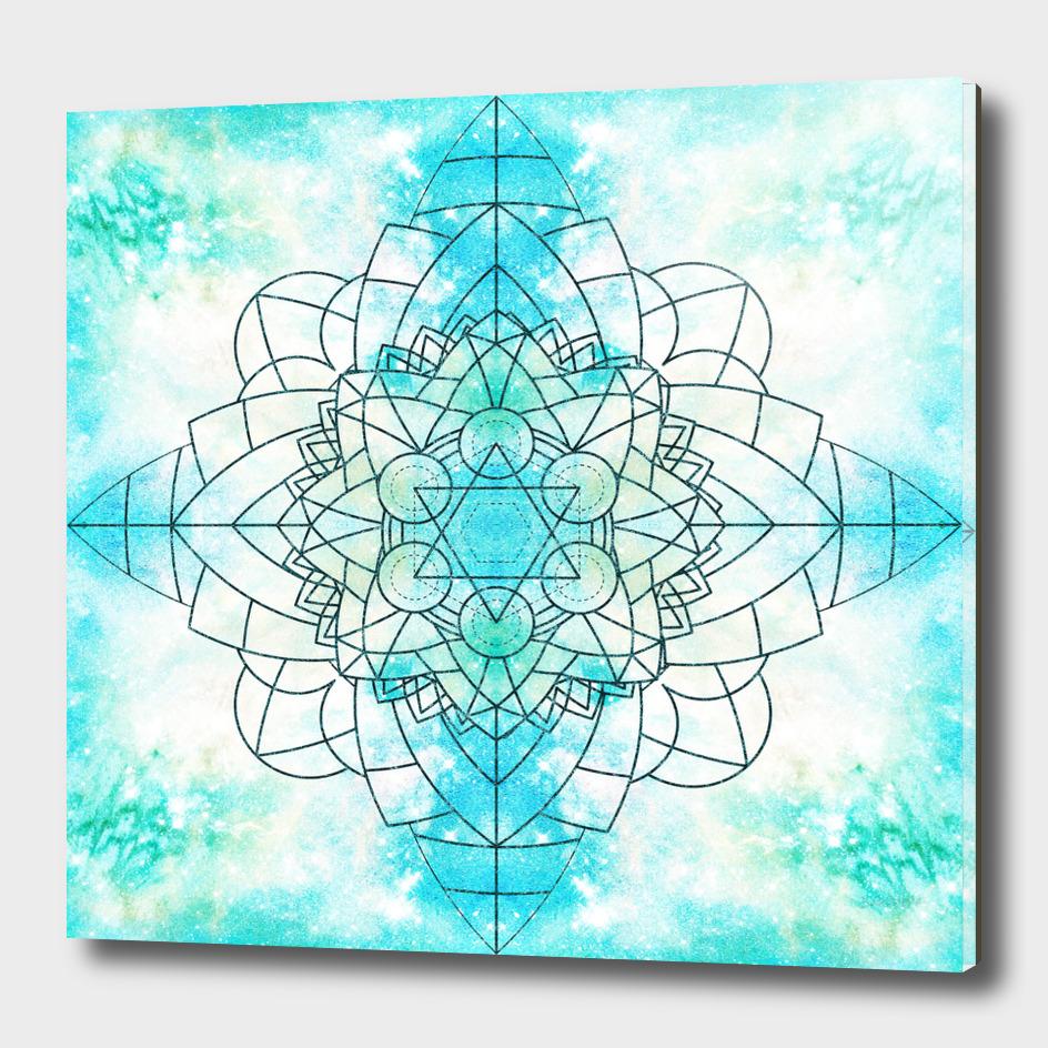 Frosty Mandala