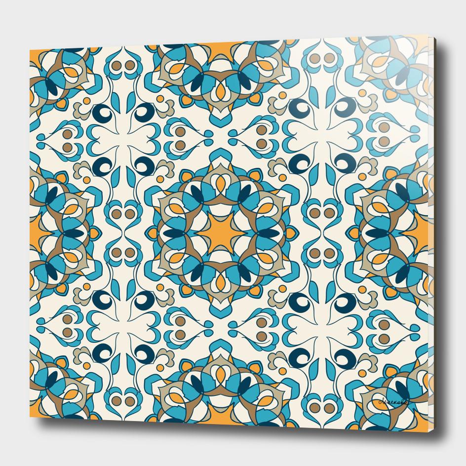 Eastern arabic ornament