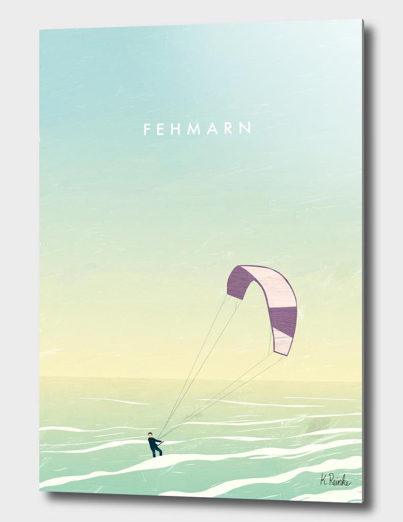 Kitesurfer Fehmarn
