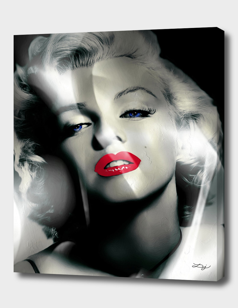 Red Lips Marilyn