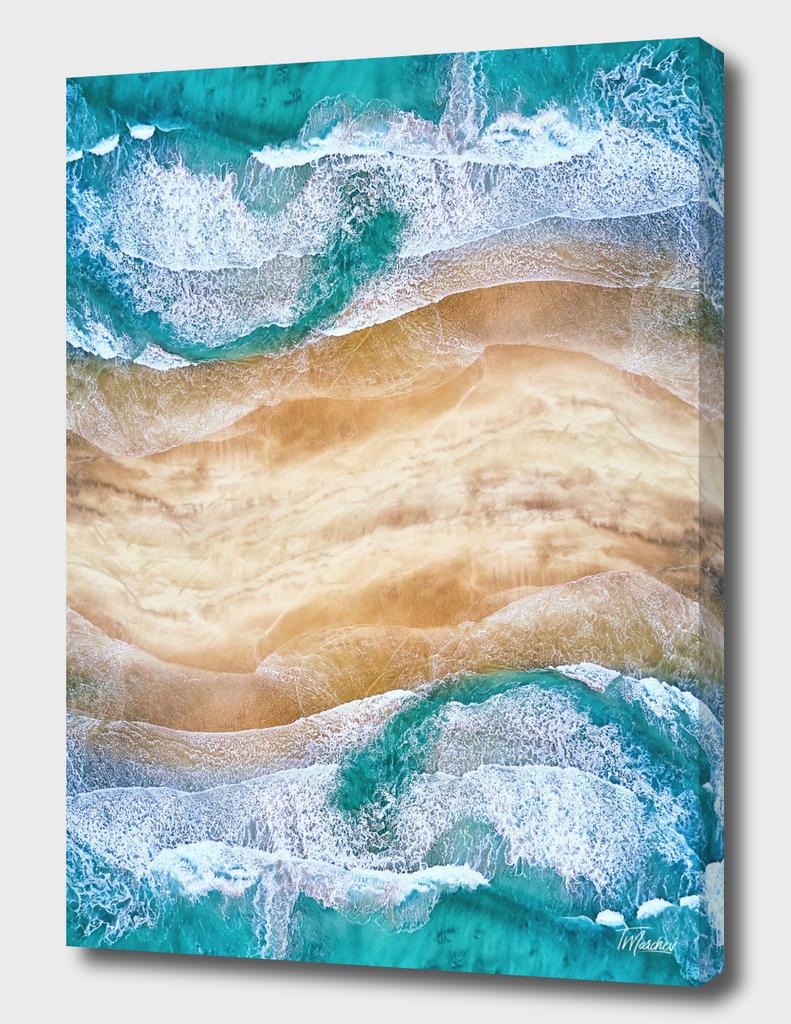 Tropical V - Beach Waves I