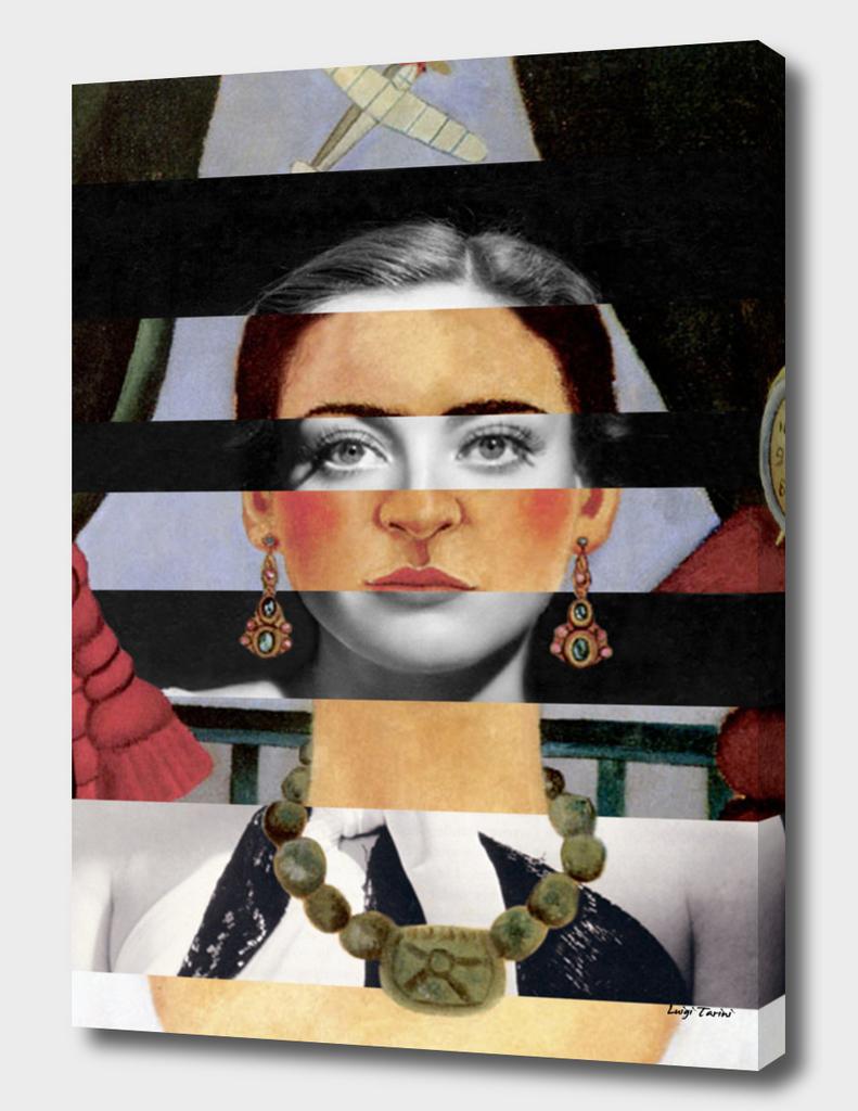 Frida Kahlo's Self Portrait Time Flies & Joan Crawford