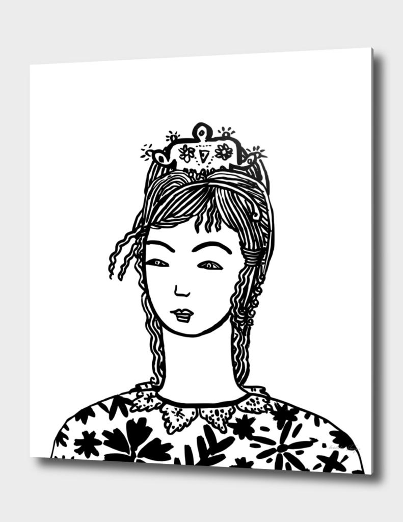 Portrait Number 1 Black & White