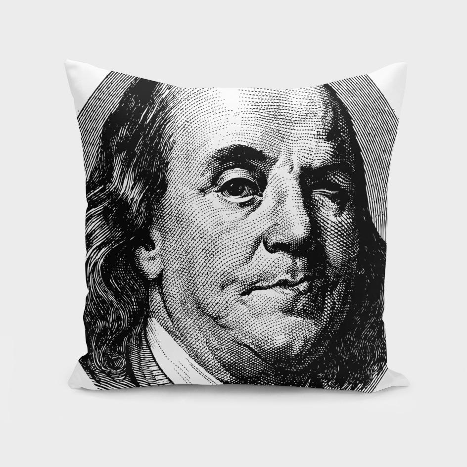 Winking Ben Franklin