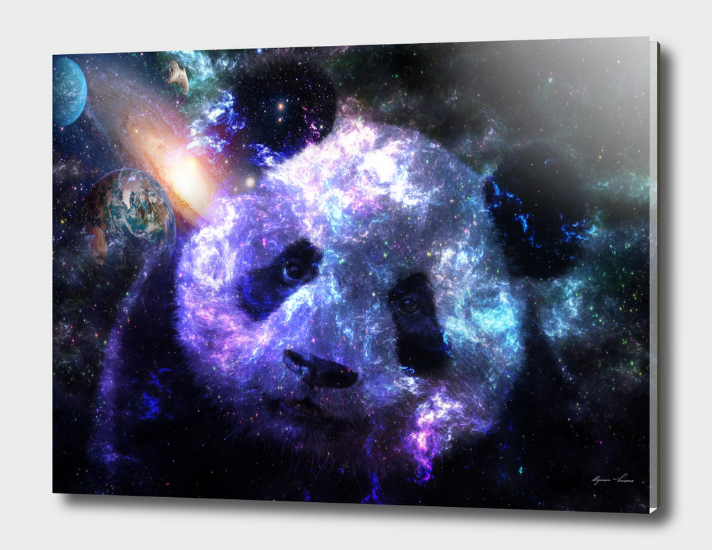 The Planet of Panda Galaxy