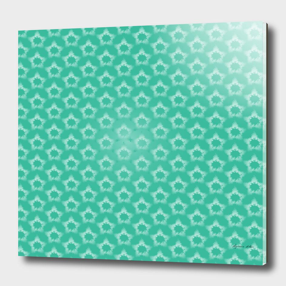 Star snowflake Seamless Pattern
