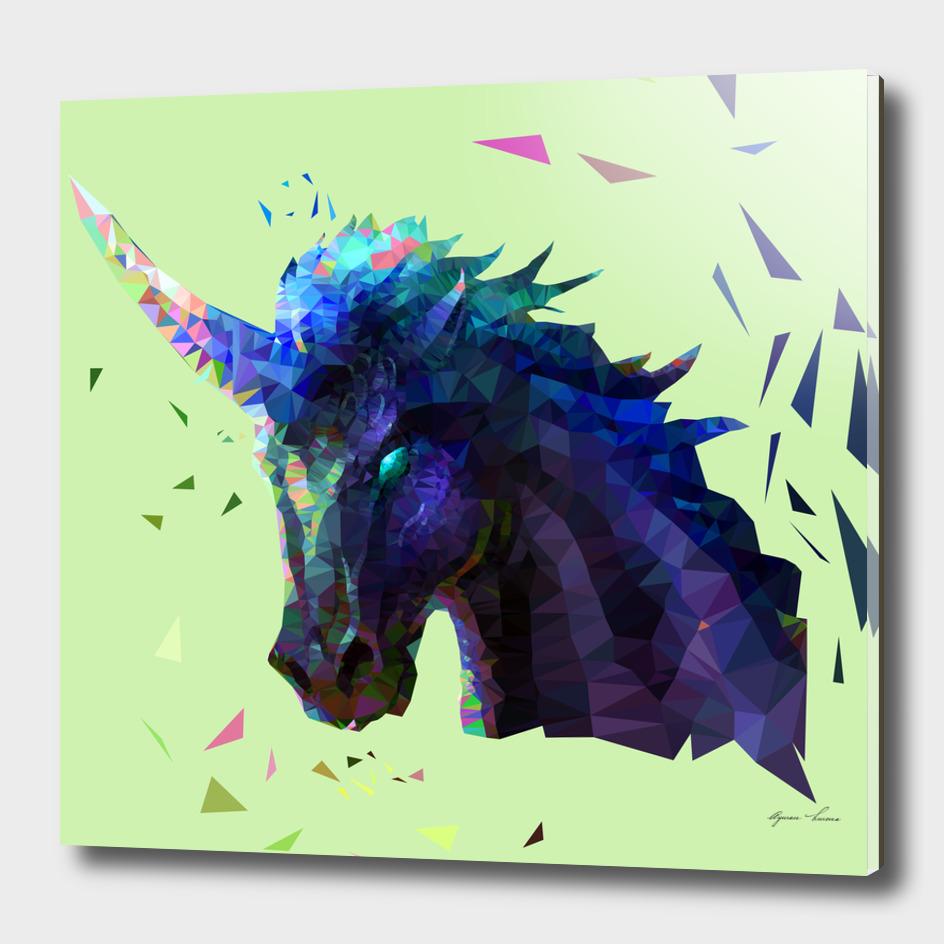 Geometric Unicorn Polygon