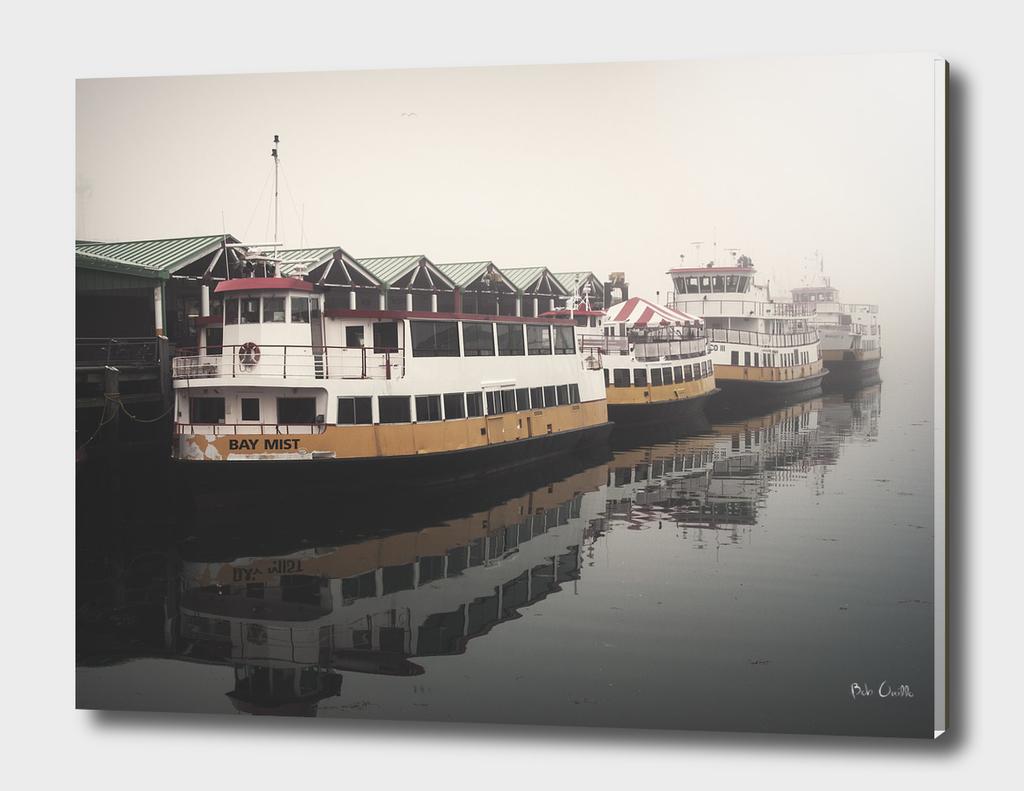 Portland Morning Fog