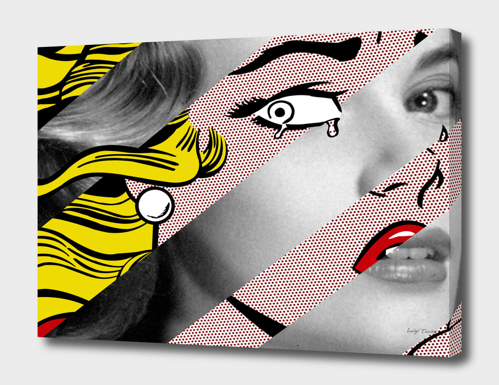 Roy Lichtenstein's Crying Girl & Grace Kelly