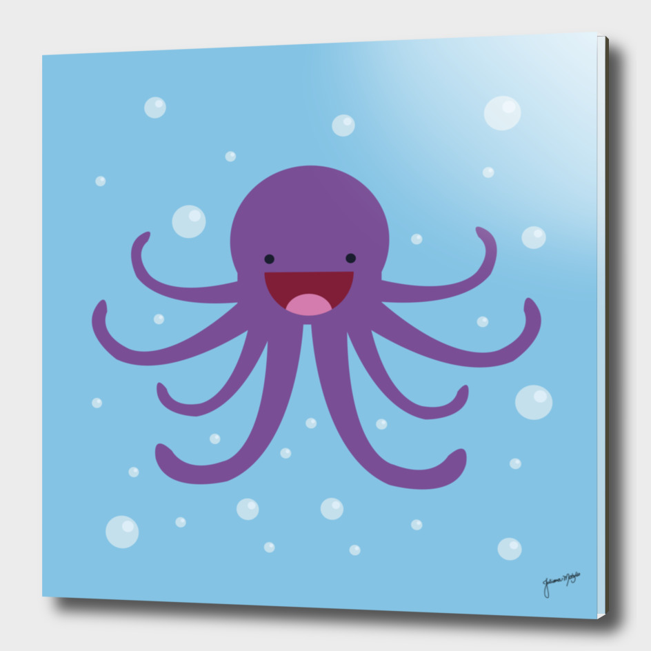 Happy Octopus