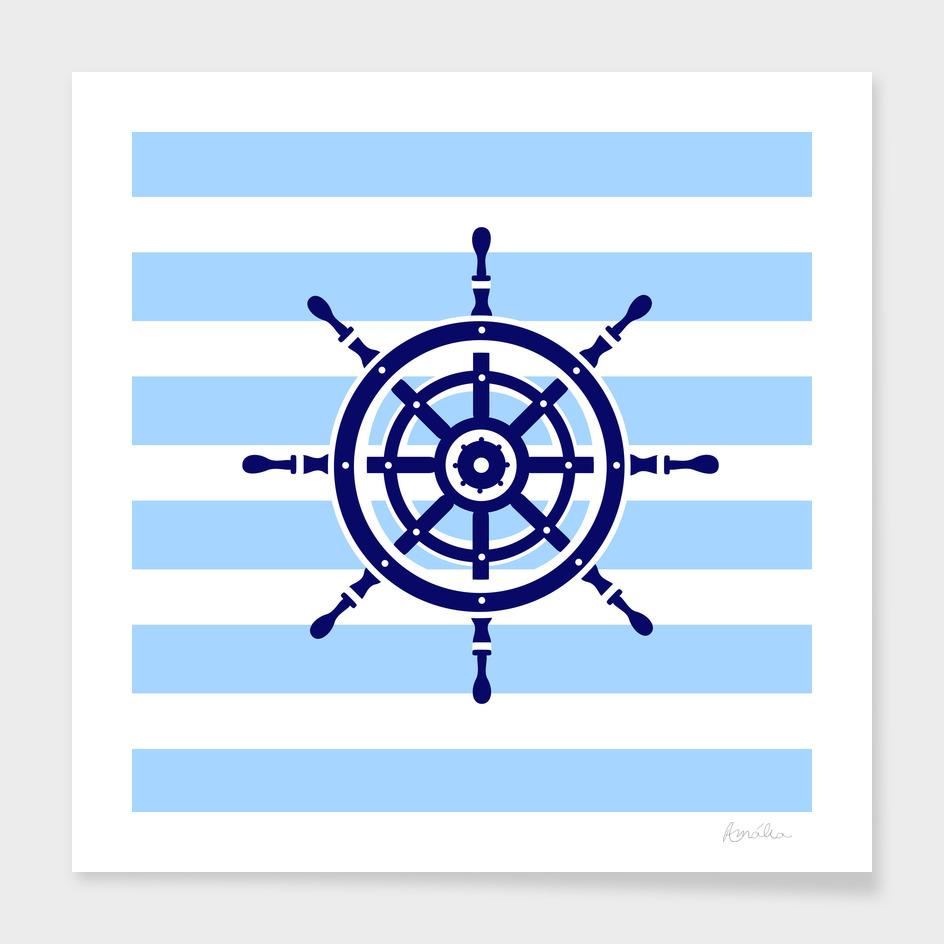 AFE Nautical Helm Wheel