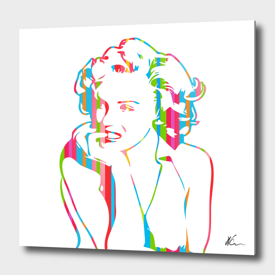 Marilyn Monroe - Pop Art