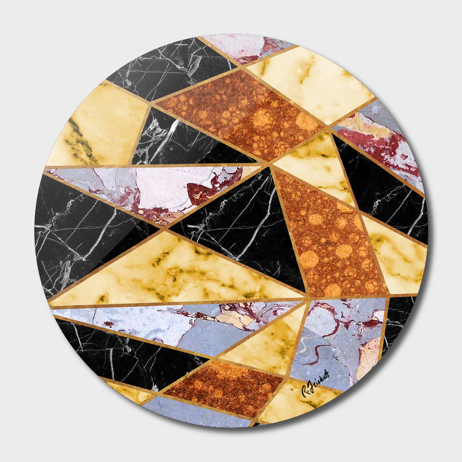 Abstract #458 Molten Metal & Marble