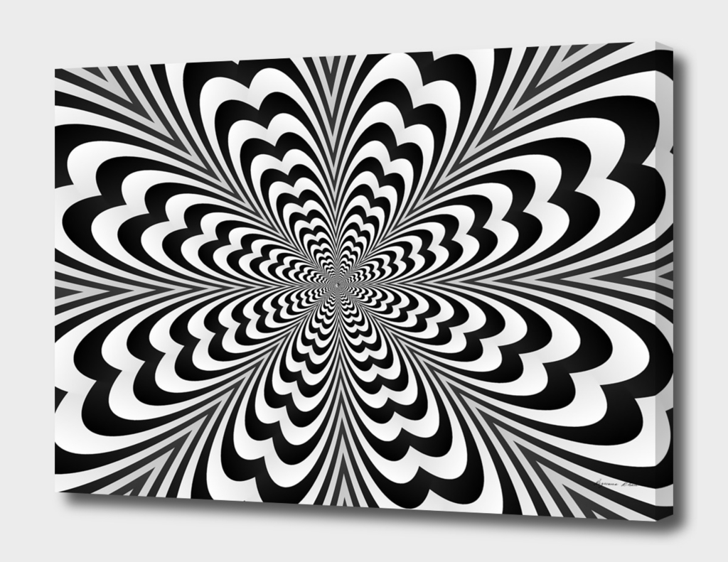 Trendy Optical illusion