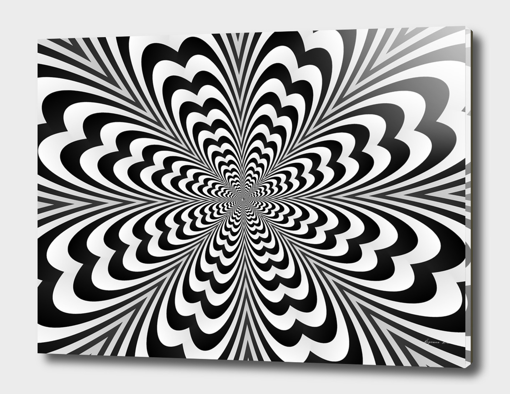 Trendy Optical illusion