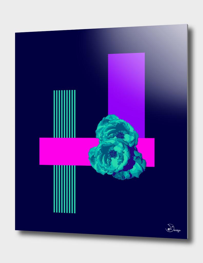 Neon Roses