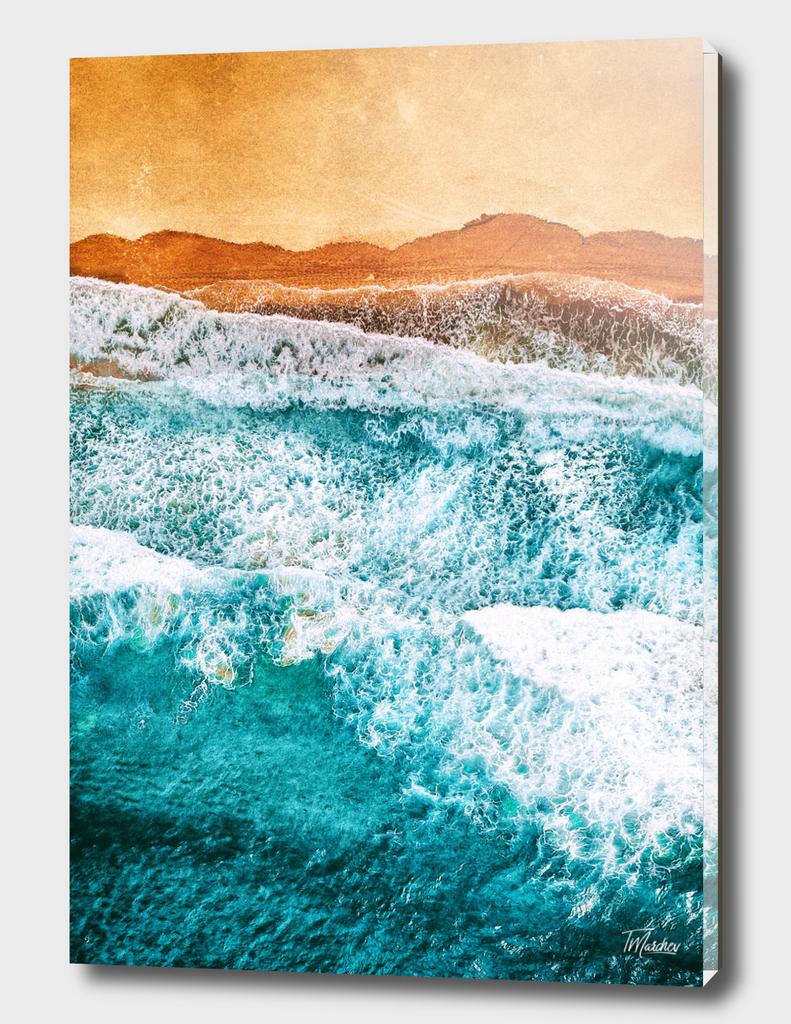 Tropical VI - Beach Waves II