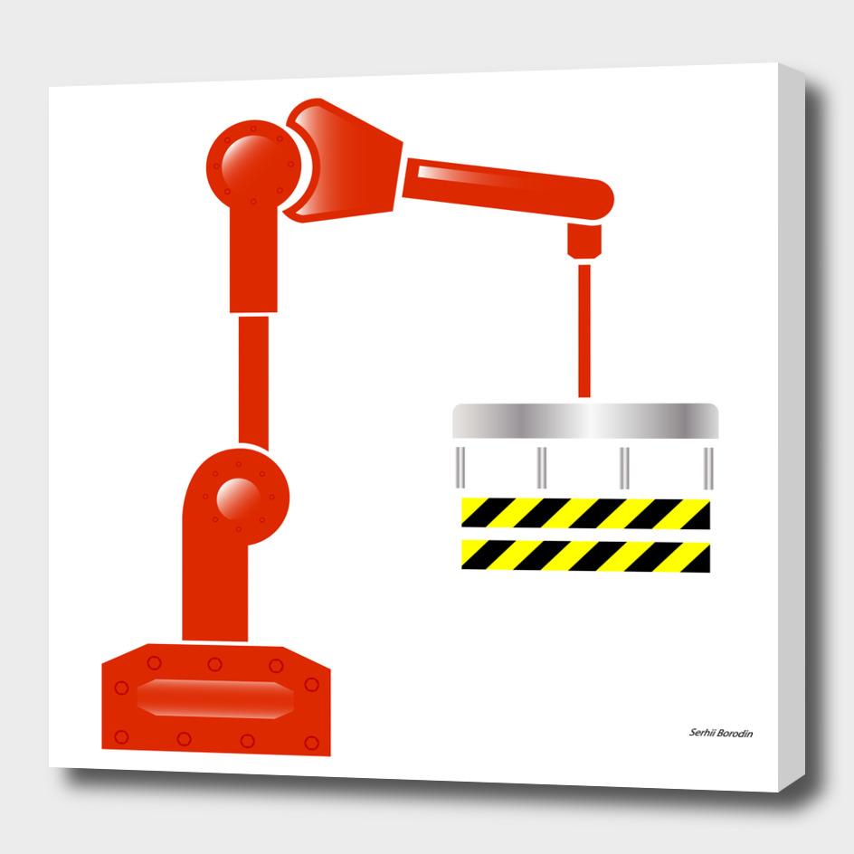 Robotic hand manipulator