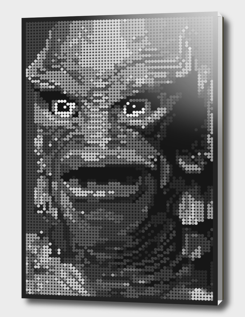 Gill Man (Black & White)
