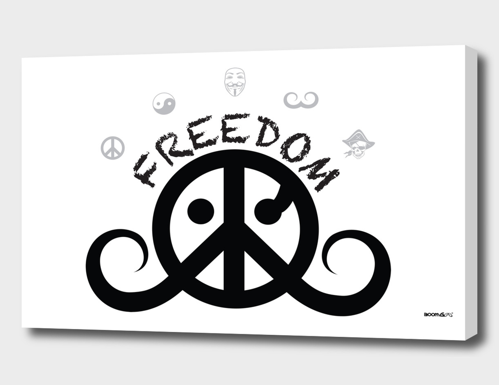 freedom 2o (black/white)