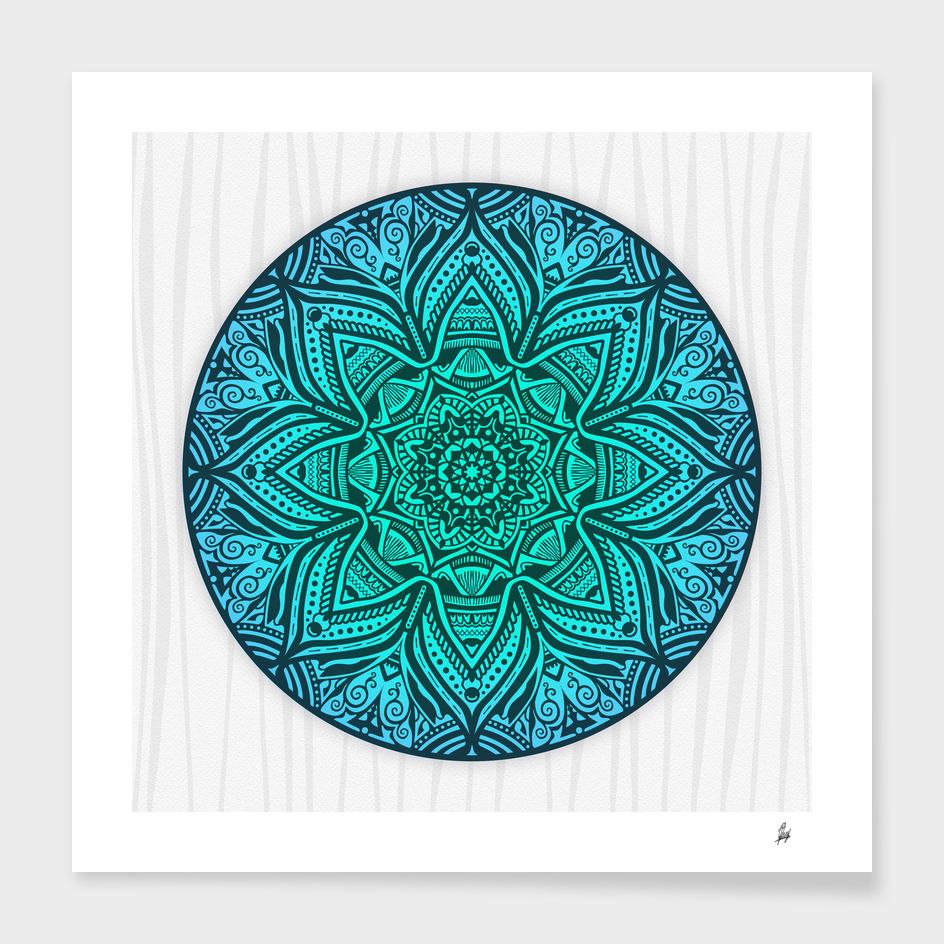 Mandala Aqua