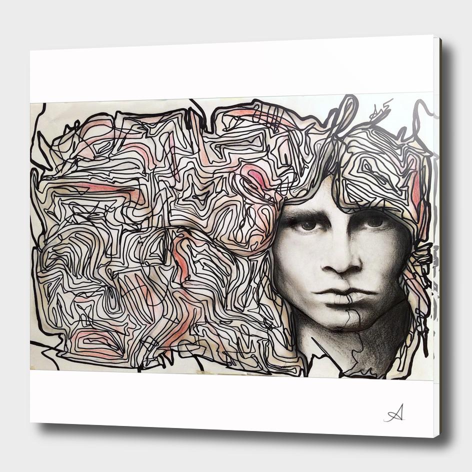 Cerebral freedom (Ode to Jim Morrison)