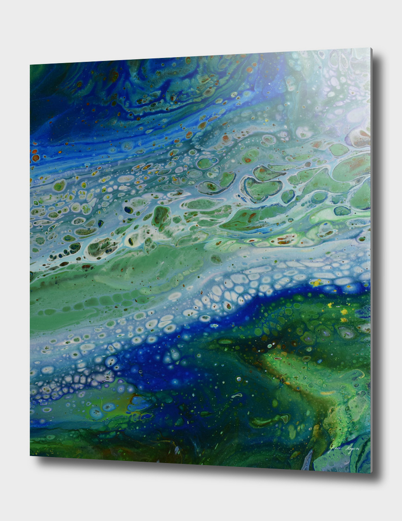 Acrylic Pour, Fluid Art, Acrylic Flow, Abstract Painting