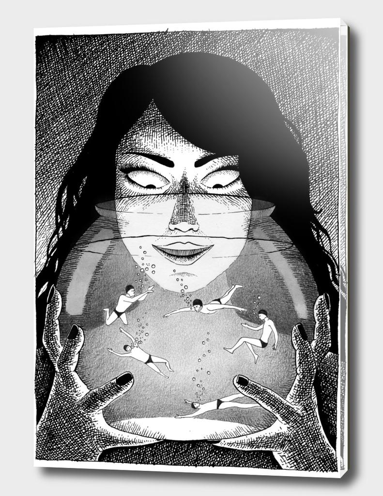 Aquarium Witch