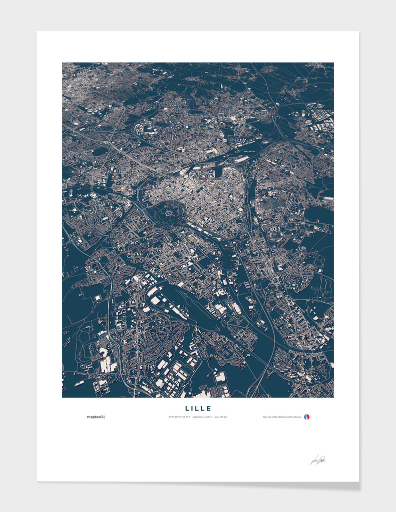 Lille - City Map