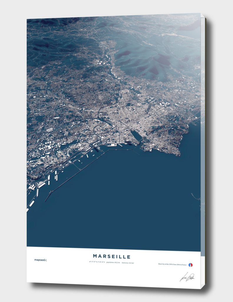 Marseille - City Map
