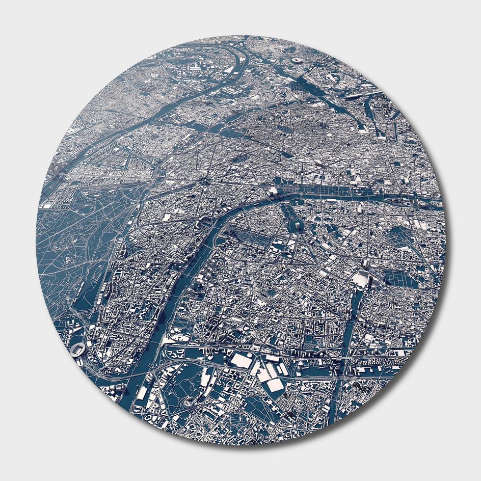 Paris - City Map