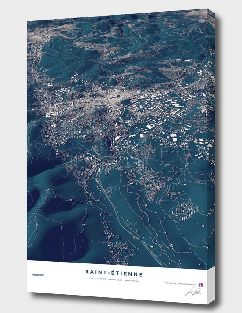 Saint-Ètienne - City Map