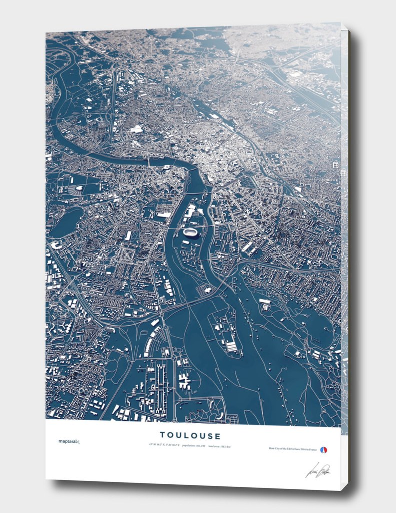 Toulouse - City Map