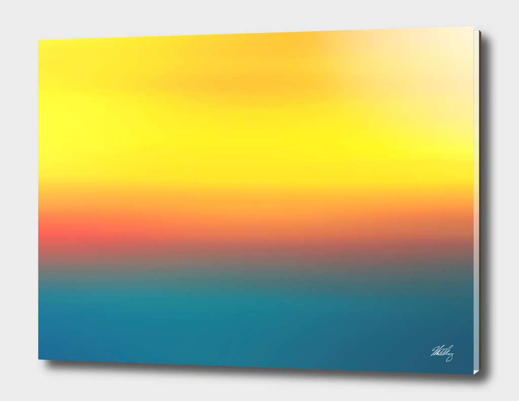 Sunset Abstract
