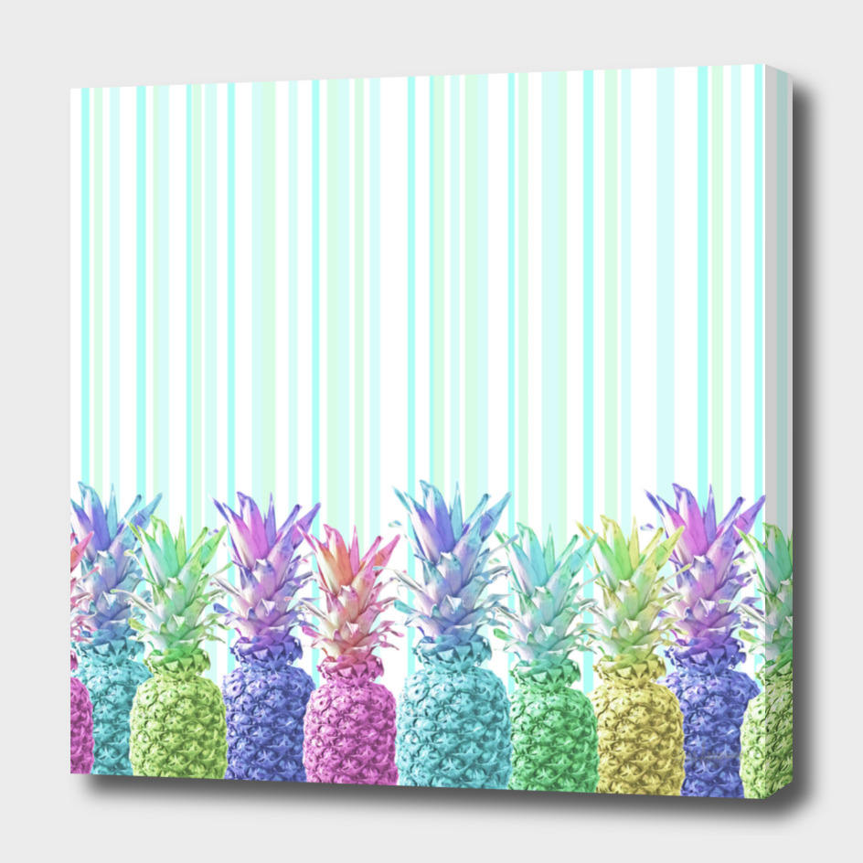Pastel Jungle and Stripes