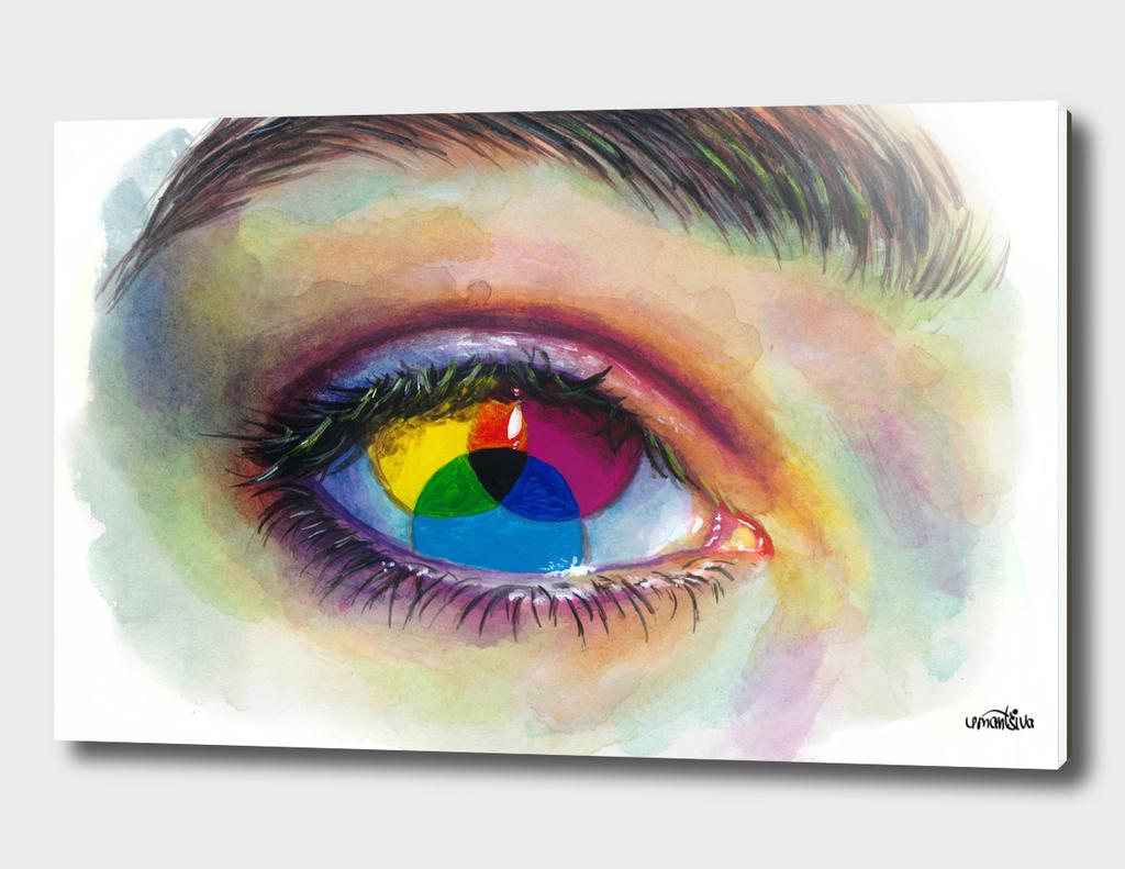 Eye of an artist