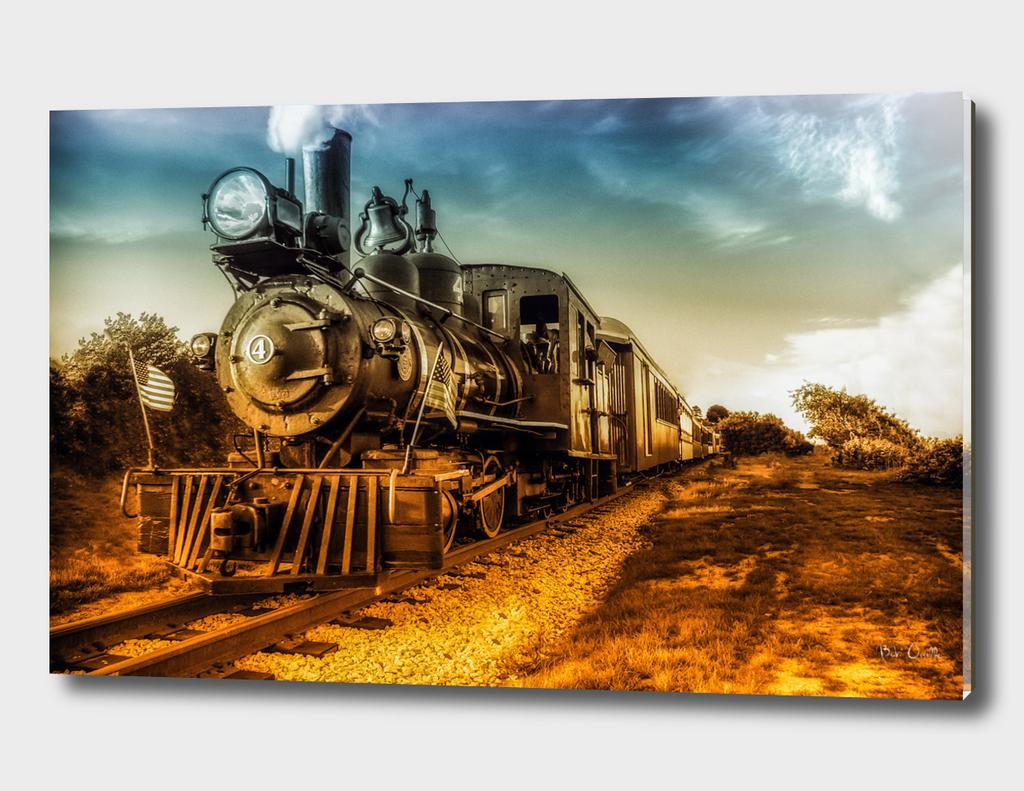 Old Steam Engine 4