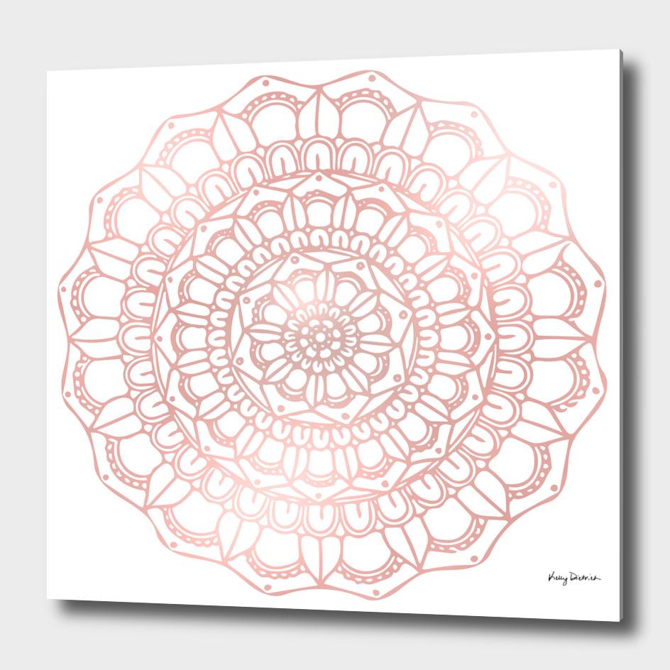 Rose Gold Mandala