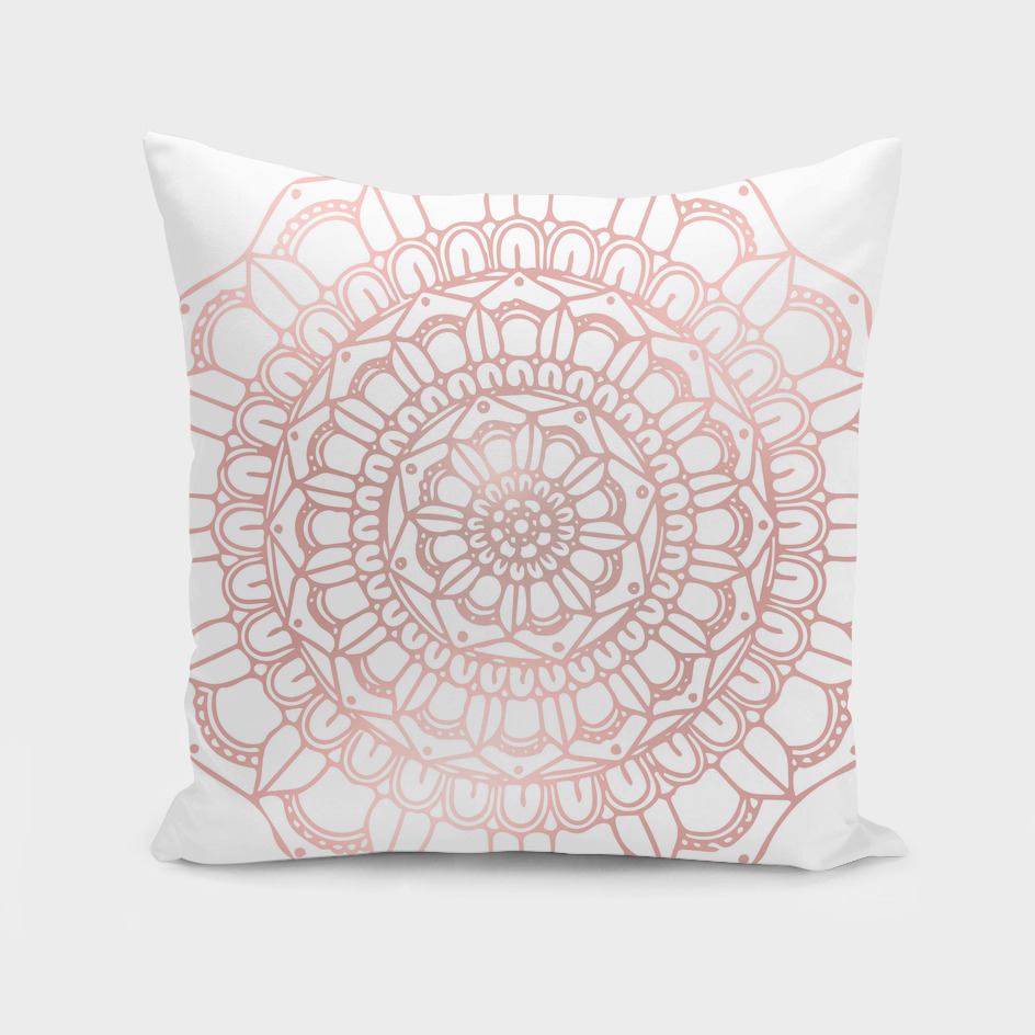 Rose Gold Mandala