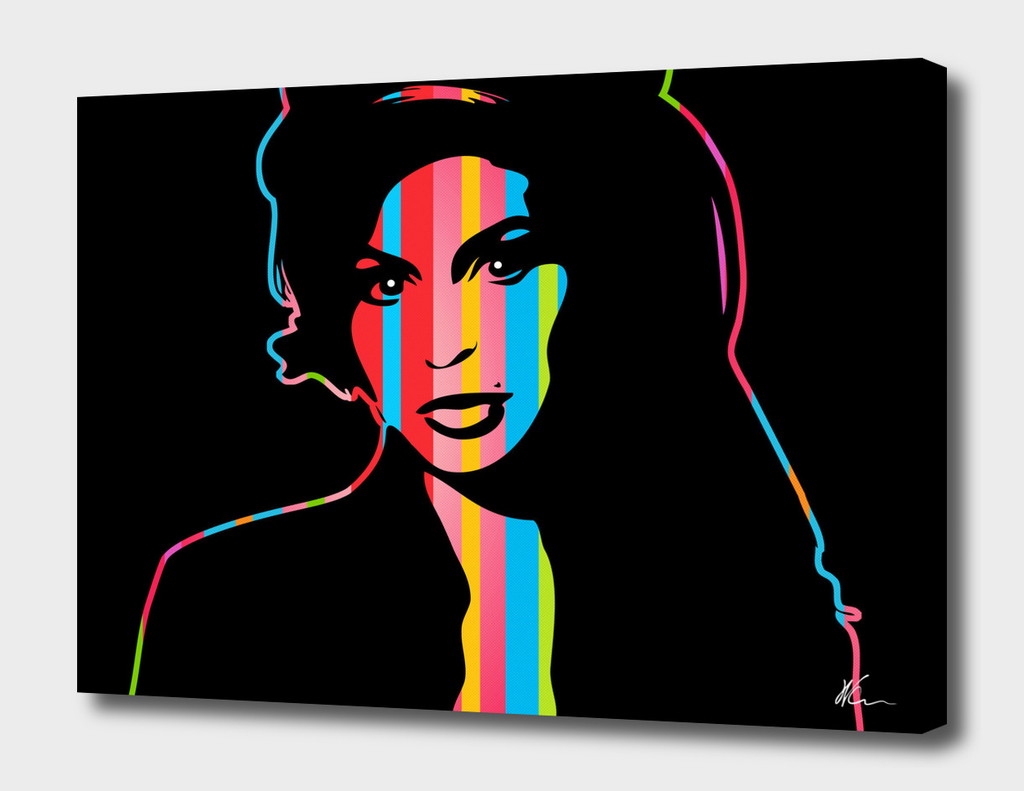 Amy Winehouse | Dark | Pop Art