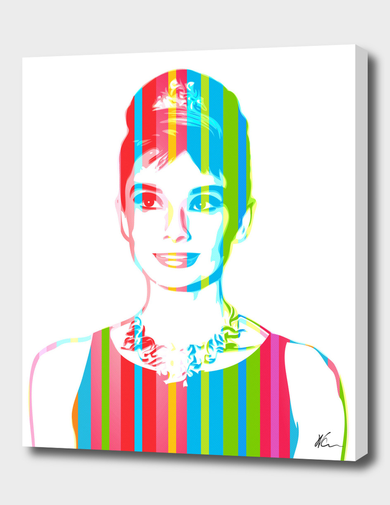 Audrey Hepburn | Pop Art