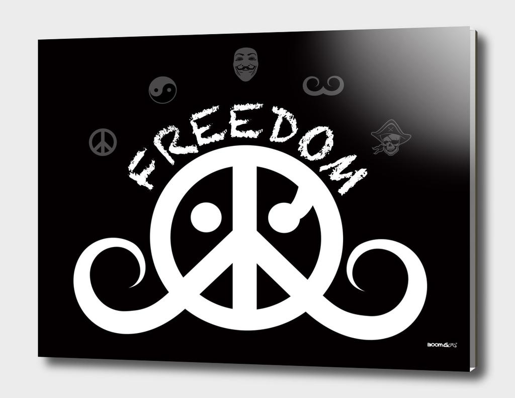 freedom 2o (white/black)