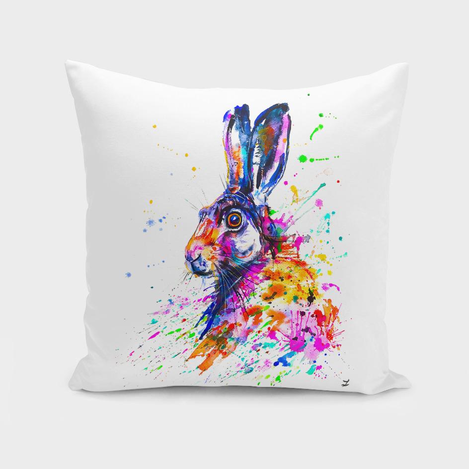 Hare in Grass by Zaira Dzhaubaeva PNG