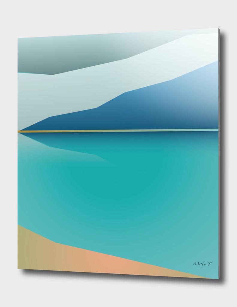 Lake abstract