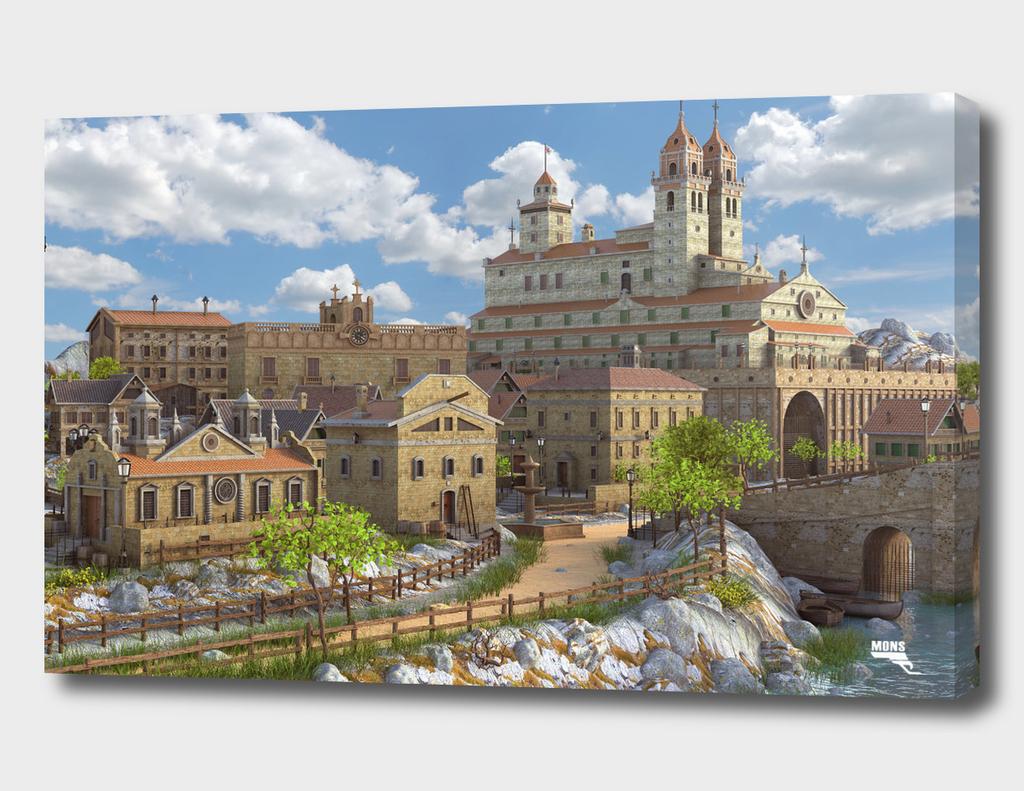 Fantasy Cityscape