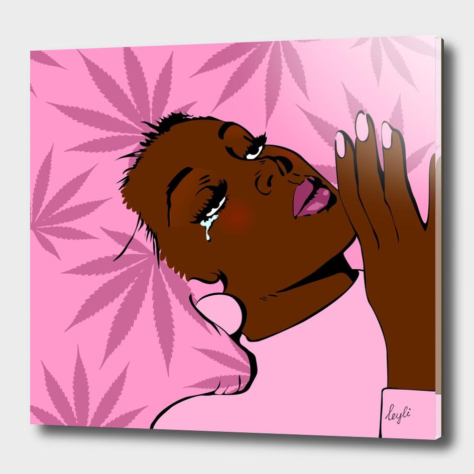 Goa Pink Afro