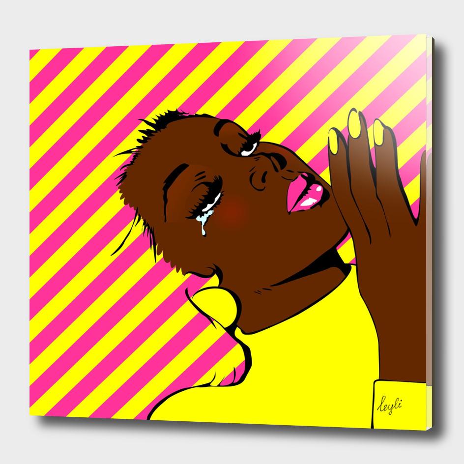 Pin up portrait