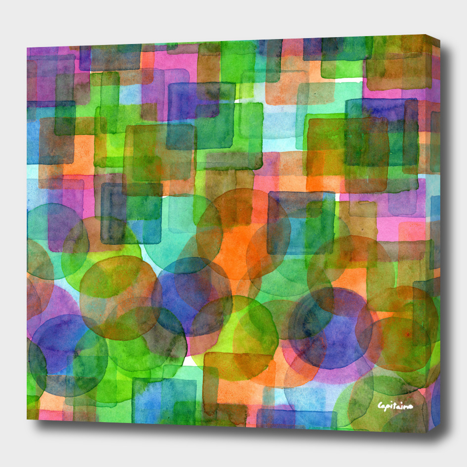 Befriended Squares and Bubbles