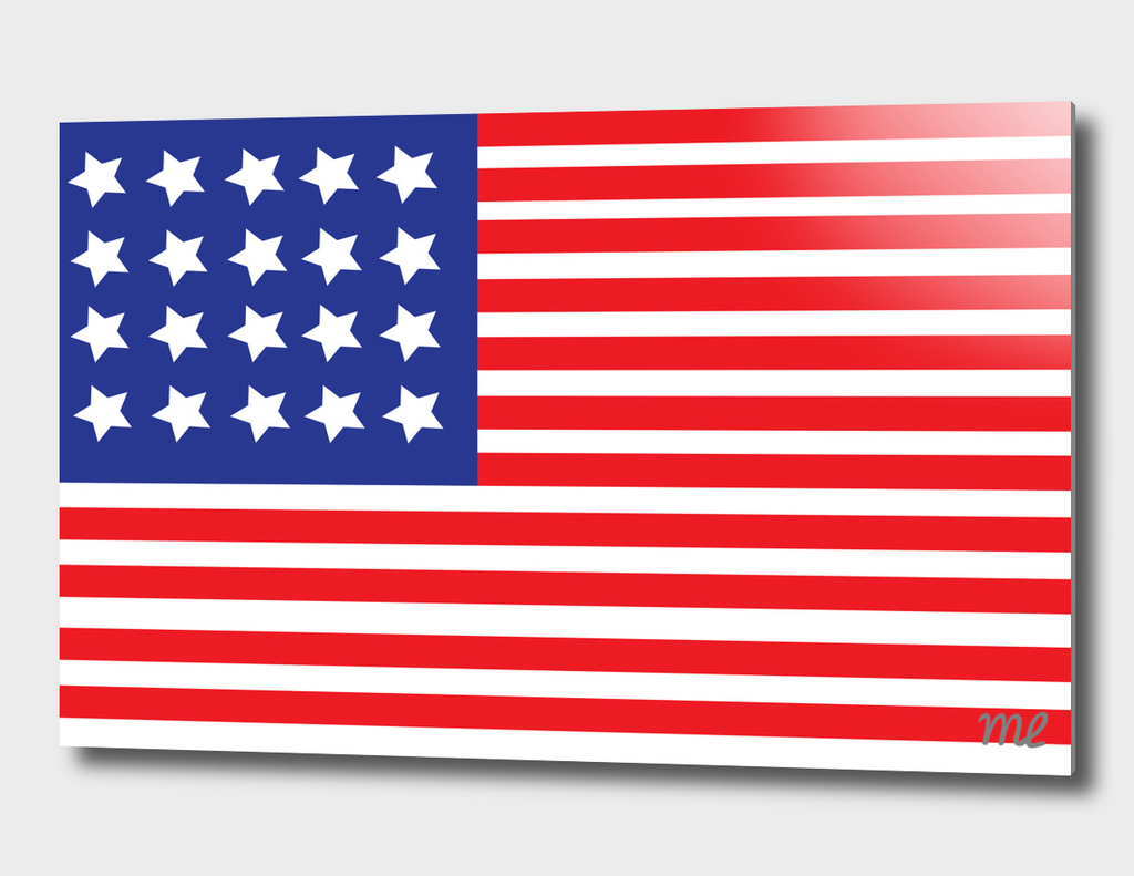 United States Flag by Michael Lacroix